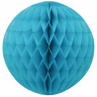 Honeycomb Ball 8in - Caribbean Teal