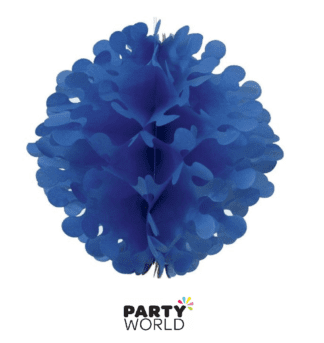 royal blue flutter ball
