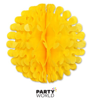 yellow flutter ball