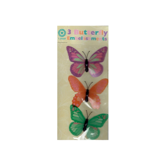 Butterfly Embellishments (3)