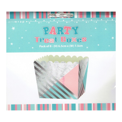 Marble Party Treat Boxes (8)