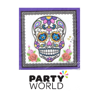 Day of the Dead Luncheon Napkins (20)