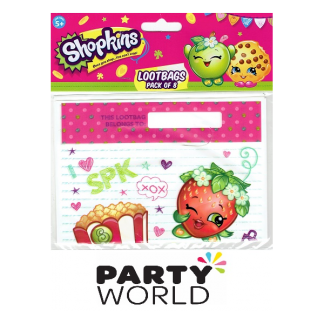 Shopkins Loot Bags (8)