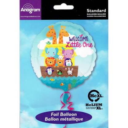 Noah's Ark Welcome Little One Foil Balloon