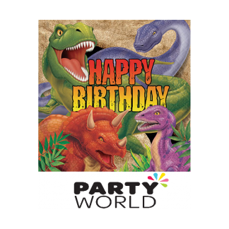 Dino Blast Birthday Luncheon Napkins (16)