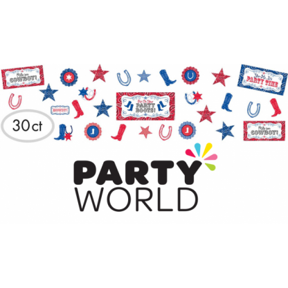 Western Party Cutouts (30)