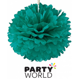 16In Puff Ball - Teal