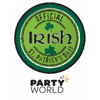 Officially Irish 7inch Paper Plates (8)