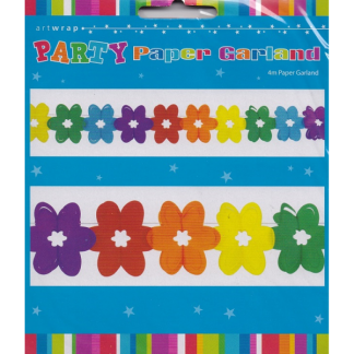 Flower Paper Party Garland
