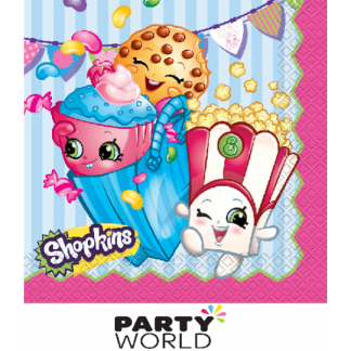 Shopkins Luncheon Napkins (16)