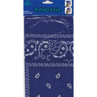 Blue Cotton Bandana