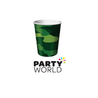 Camouflage Party Cups (8)