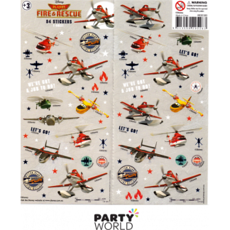 Disney Planes Fire & Rescue Stickers (84)