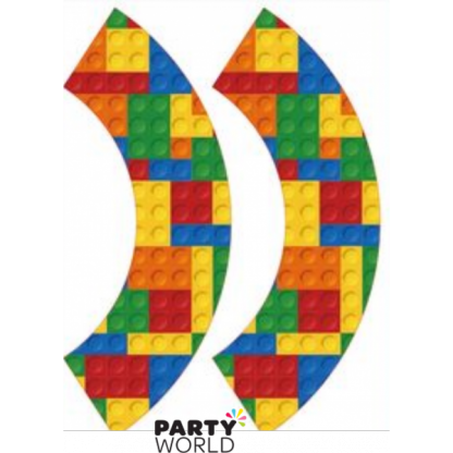 Lego Block Party Cupcake Wrappers (8)