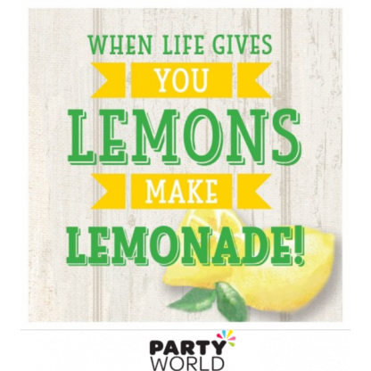 Lemonade Days Beverage Napkins (16)