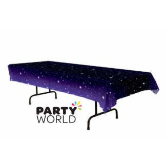 Starry Night Plastic Table Cover