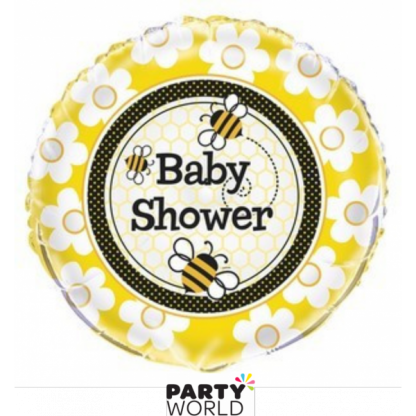 Busy Bee Baby Shower Foil Balloon 18inch
