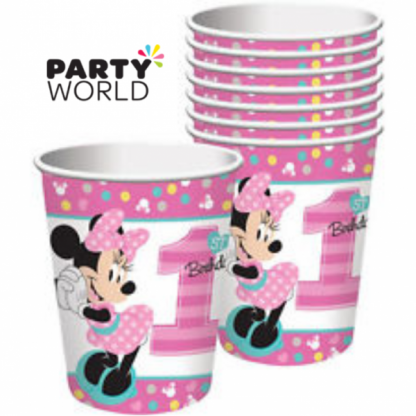 Minnie's Fun To Be One Paper Cups (8)