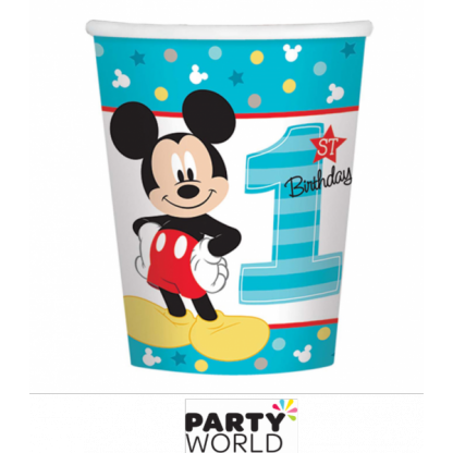 Mickey's Fun To Be One Paper Cups (8)