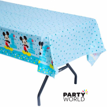 Mickey's Fun To Be One Plastic Table Cover