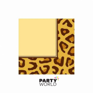 Animal Print Leopard Luncheon Napkins (16)