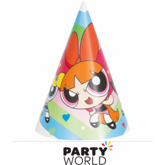 Powerpuff Girls Paper Party Hats (8)