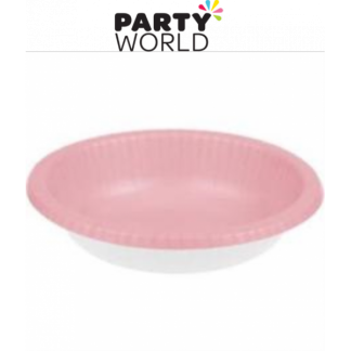Classic Pink Paper Bowls (20)