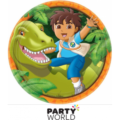 Dora - Diego's Biggest Rescue Paper Plates 9in (8)
