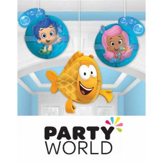 Bubble Guppies Honeycomb Decorations