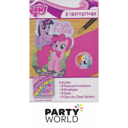 My Little Pony Party Invitations (8)