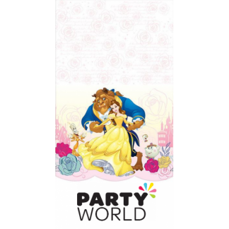 Beauty and the Beast Plastic Tablecover