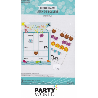 Baby Shower Noah's Ark Bingo Game