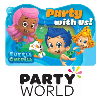 Bubble Guppies Party Invitations (8)
