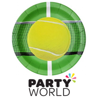 Tennis Ball Paper Plates 9in (8)