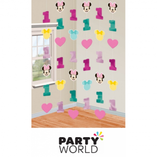Minnie's Fun To Be One String Decorations (6)
