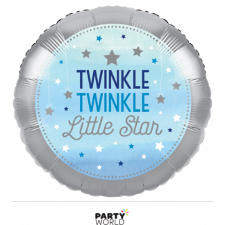 Twinkle Twinkle Little Star Foil Balloon 18in