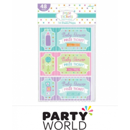 Baby Shower Prize Tickets (48)