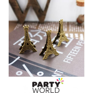 Mini Eiffel Tower Clip (1) 5.5cm
