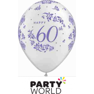 60th Latex Balloons (5)