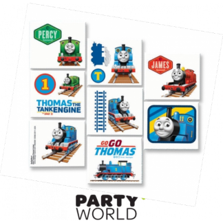 Thomas & Friends Tattoos (8 Squares)