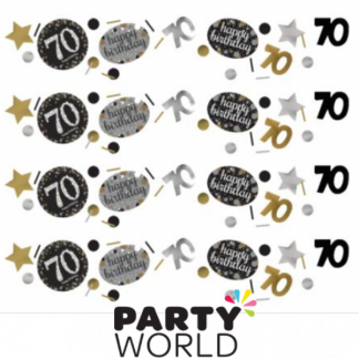 Gold Celebration 70th Confetti (34g)