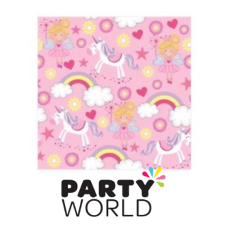Fairy and Unicorn Beverage Napkins (15)