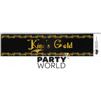 Kings Gold Party Bottle Wraps (12)