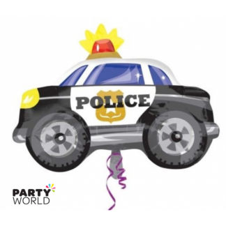 Police Car Shape Foil Balloon