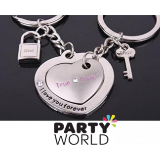 I Love You Forever Double Keychain (2)