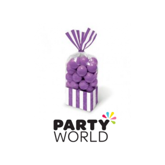 Purple Favor Bags (10)