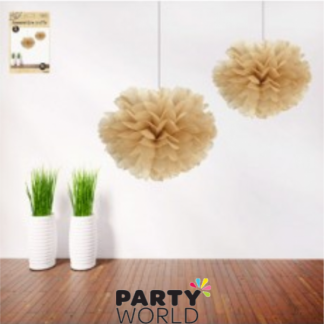 16in Natural Craft Decorative Puff (2)
