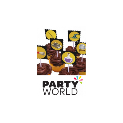 Wizard Academy Cupcake Toppers (12)
