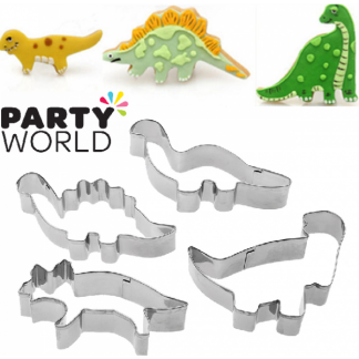 Dinosaur Cookie Cutters (4)