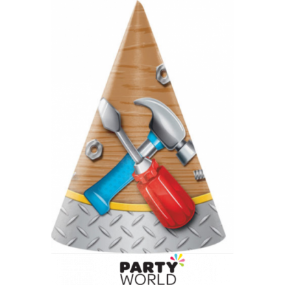 Tool Party Handyman Party Hats (8)